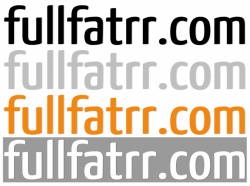 fullfatrr.com Sticker