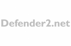 Lower Case Defender2.net Sticker
