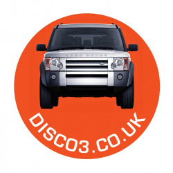 DISCO3.CO.UK Round Sticker