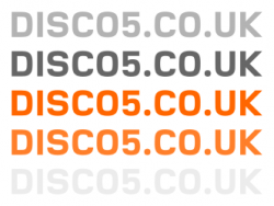 DISCO5.CO.UK Sticker
