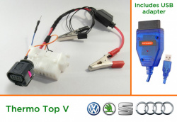 Diagnostic kit for Webasto ThermoTop V (VW/Audi)