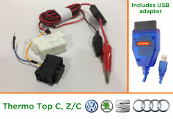 Diagnostic kit for Webasto ThermoTop C (VW/Audi)
