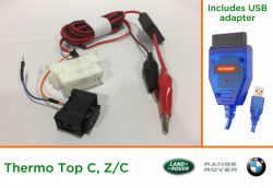 Diagnostic kit for Webasto ThermoTop C (LR/RR/BMW)