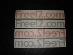 Freel2.com Sticker
