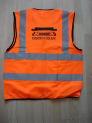 DISCO3.CO.UK Hi-Vis Vest