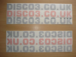 DISCO3.CO.UK Sticker